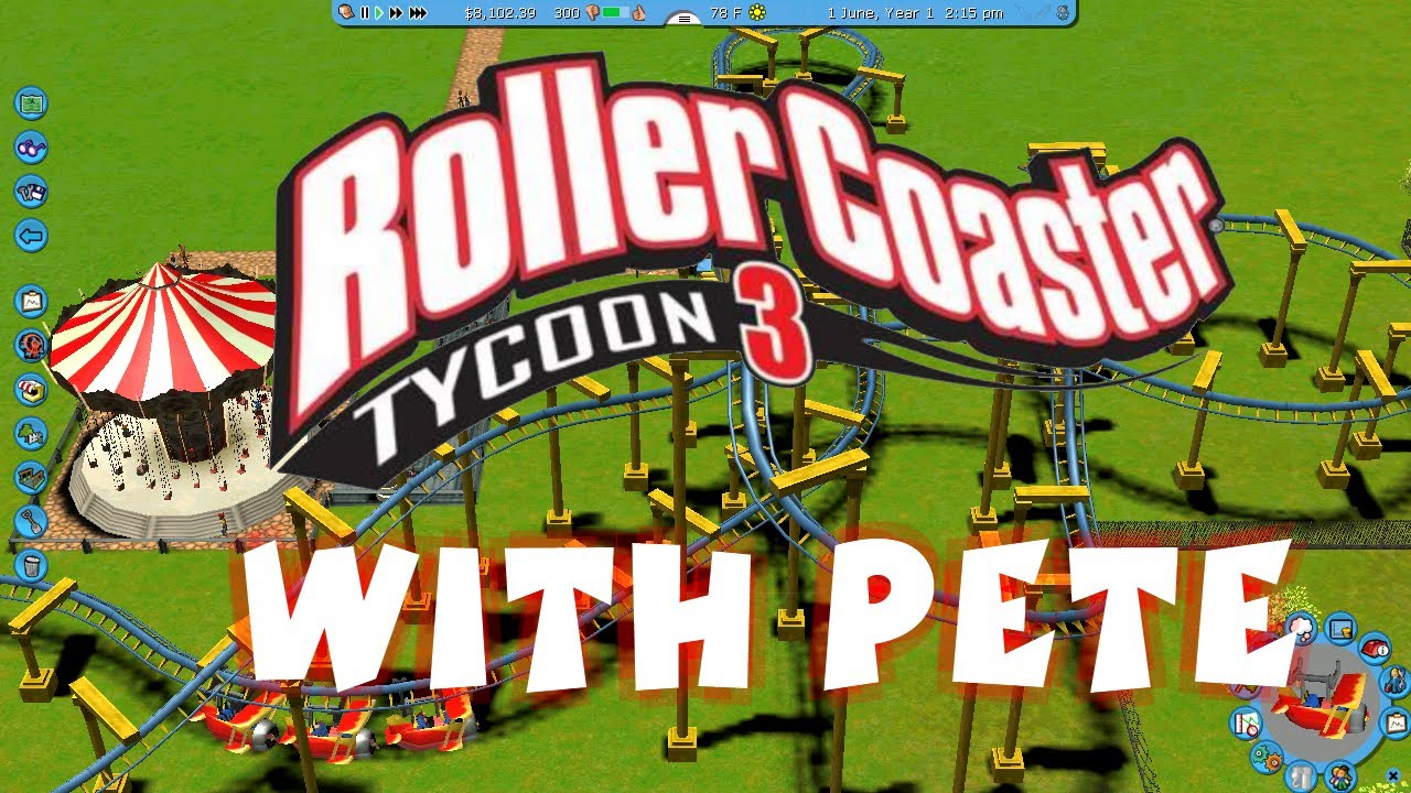 RollerCoaster Tycoon World Codex PC Game Free Download