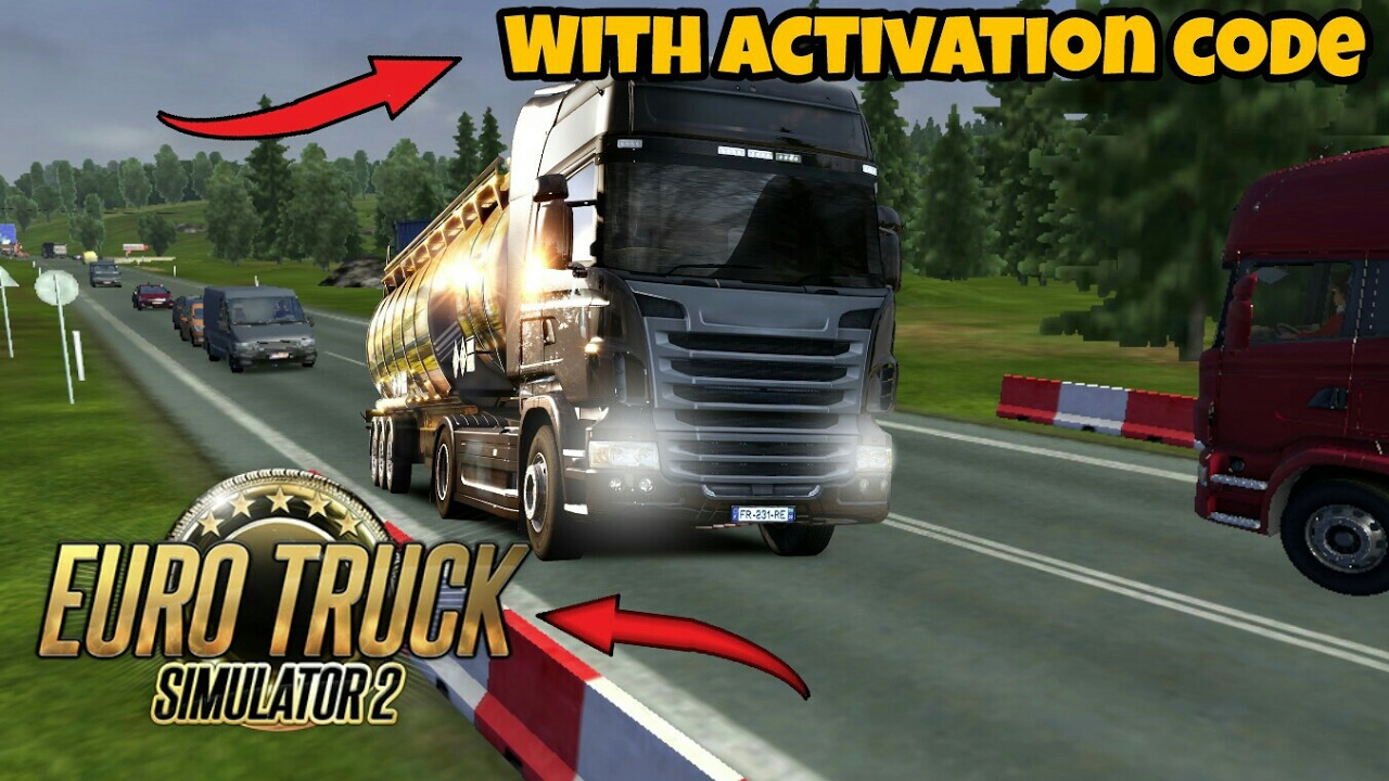 Euro Truck Simulator 2 Crack PC Game For Free Download